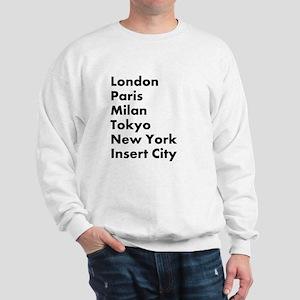 Insert City Sweatshirt