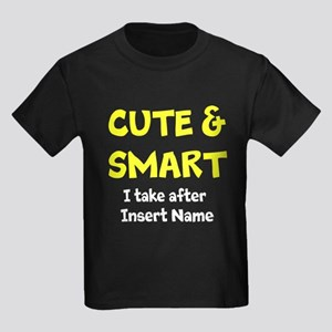 Cute and smart take after Kids Dark T-Shirt