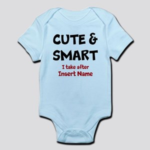 Cute and smart take after Infant Bodysuit