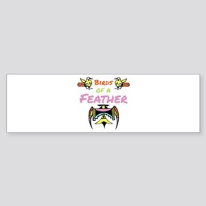 Birds Of Feather Bumper Sticker