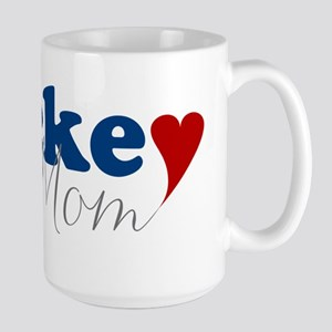 Hockey Mom with Heart Mugs