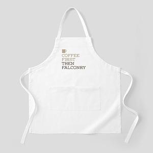 Coffee Then Falconry Apron