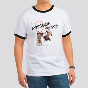 Ice Age Awesome Possum Ringer T