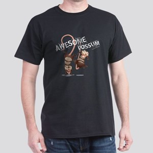 Ice Age Awesome Possum Dark T-Shirt