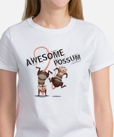Ice Age Awesome Possum Women's T-Shirt
