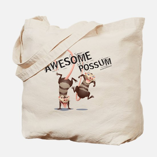 Ice Age Awesome Possum Tote Bag