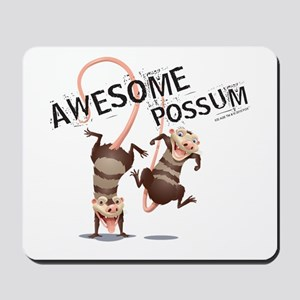 Ice Age Awesome Possum Mousepad