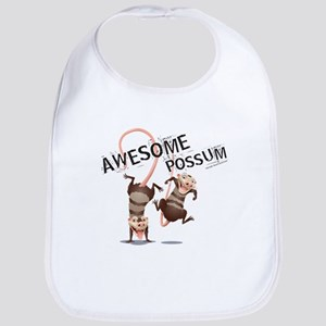 Ice Age Awesome Possum Bib
