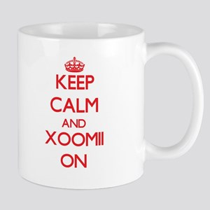 Keep Calm and Xoomii ON Mugs