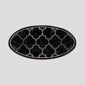 TILE1 BLACK MARBLE & GRAY BRUSHED METAL (R) Patch