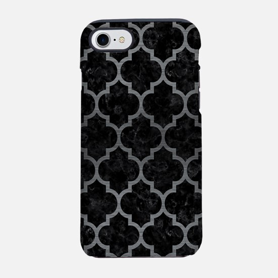TILE1 BLACK MARBLE & GRAY BR iPhone 8/7 Tough Case