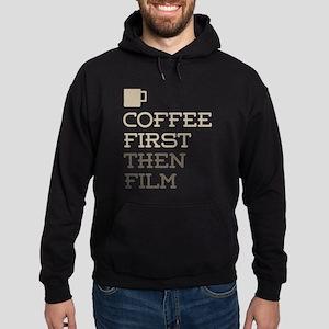 Coffee Then Film Hoodie (dark)