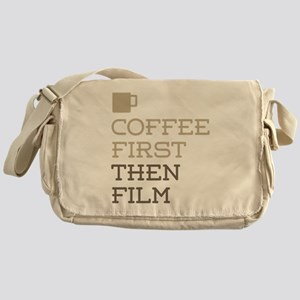 Coffee Then Film Messenger Bag