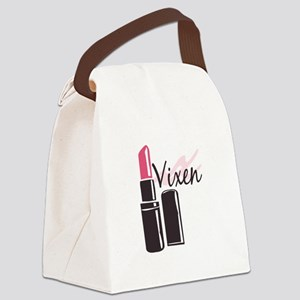 Vixen Canvas Lunch Bag