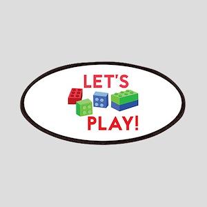 Lego Blocks Patch