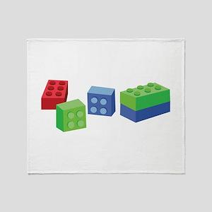 Building Blocks Throw Blanket