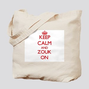 Keep Calm and Zouk ON Tote Bag