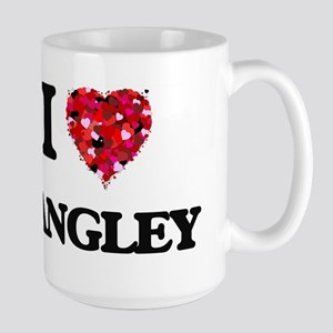 I Love Langley Mugs