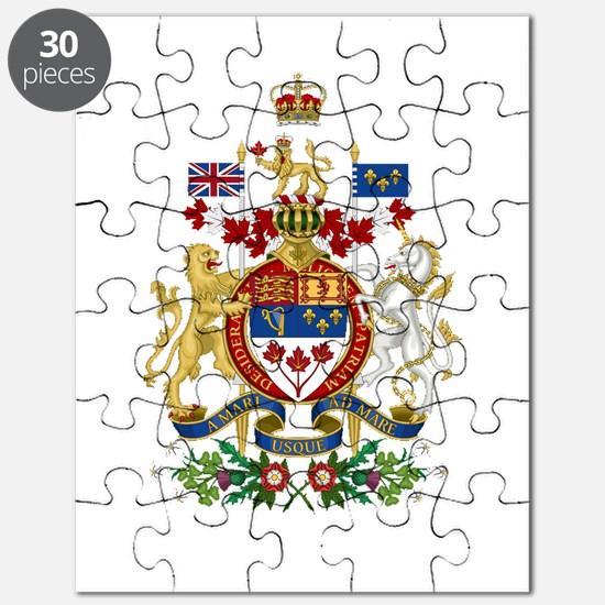 Canada's Coat of Arms Puzzle