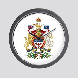 Canada's Coat of Arms Wall Clock