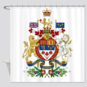 Canada's Coat of Arms Shower Curtain