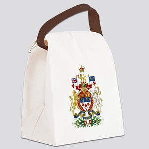 Canada's Coat of Arms Canvas Lunch Bag