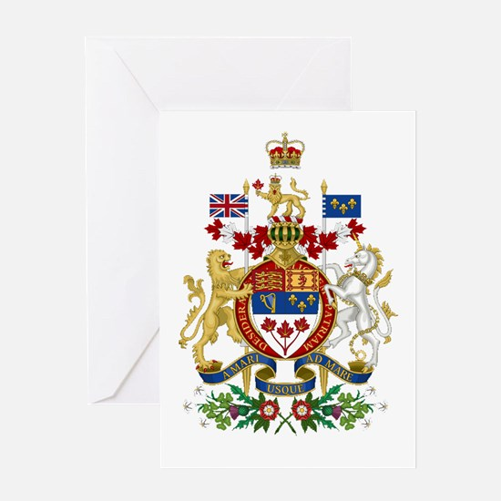 Canada's Coat of Arms Greeting Card
