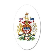 Canada's Coat of Arms Decal Wall Sticker