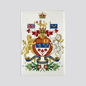 Canada's Coat of Arms Rectangle Magnet