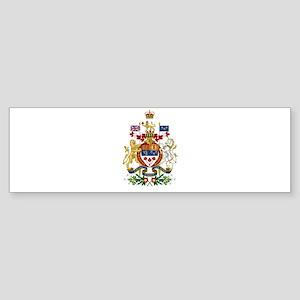 Canada's Coat of Arms Sticker (Bumper)