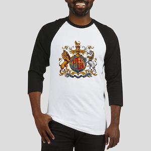 British Royal Coat of Arms Baseball Jersey