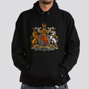 British Royal Coat of Arms Hoodie (dark)