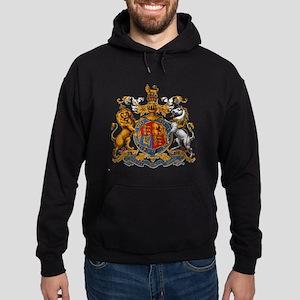 British Royal Coat of Arms Hoodie (dark)