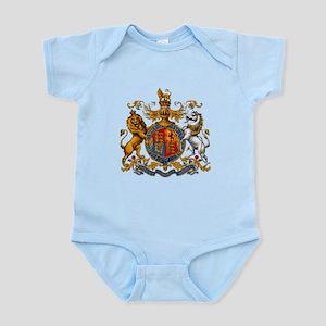 British Royal Coat of Arms Infant Bodysuit