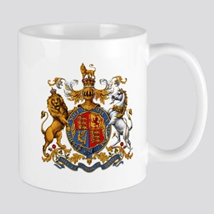 British Royal Coat of Arms Mug