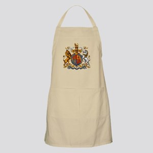 British Royal Coat of Arms Apron