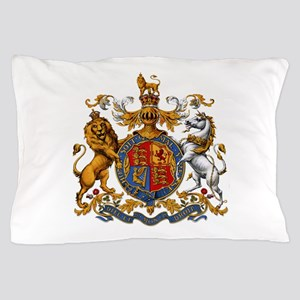 British Royal Coat of Arms Pillow Case