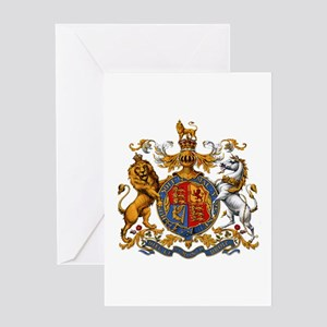 British Royal Coat of Arms Greeting Card
