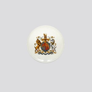 British Royal Coat of Arms Mini Button