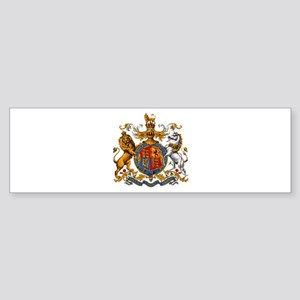 British Royal Coat of Arms Sticker (Bumper)