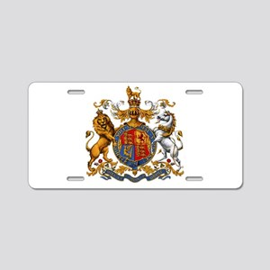 British Royal Coat of Arms Aluminum License Plate