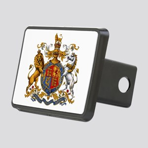 British Royal Coat of Arms Rectangular Hitch Cover