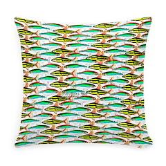School of Tropical Amazon Fish 1 Everyday Pillow