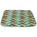 School of Tropical Amazon Fish 1 Bathmat