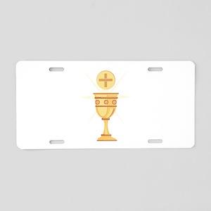 Communion Aluminum License Plate