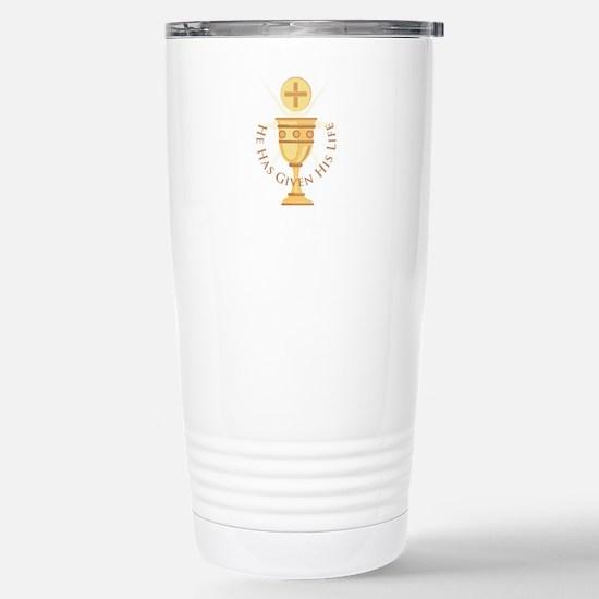 Given His Life Travel Mug