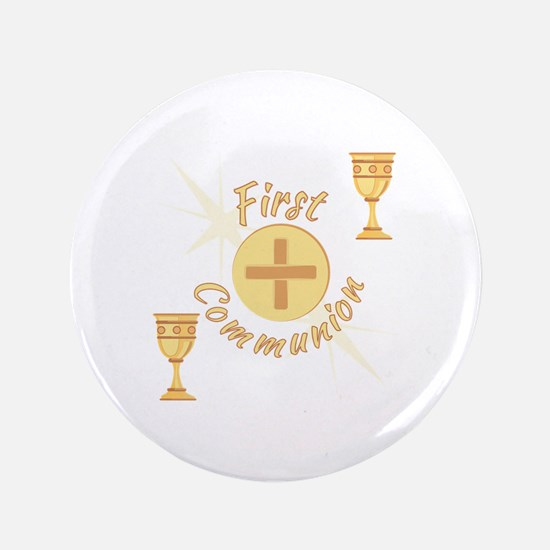 First Communion Button