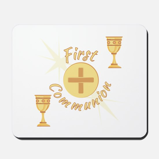 First Communion Mousepad