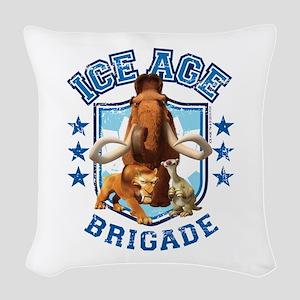 Ice Age Brigade Woven Throw Pillow