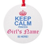 Princess is Here Ornament